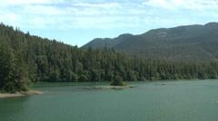 Alaska State Ferry, Ketchikan to Wrangell - stock footage