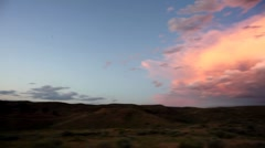 Sunset clouds Stock Footage