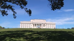 Auckland Museum Stock Footage