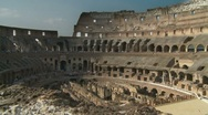 Stock Video Footage of Inside Colosseum