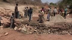 Kenya: Building a Dam Stock Footage