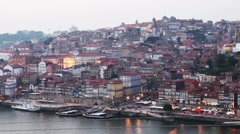 oporto dock - stock footage