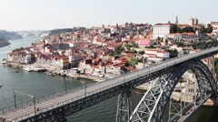 oporto's bridge02 - stock footage