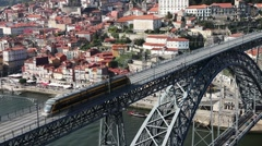 oporto's bridge01 - stock footage