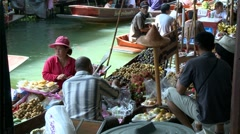 Fruit Seller - stock footage