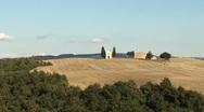 Vitaleta tuscany Stock Footage
