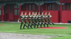 Chinese Soldiers 2 Stock Footage