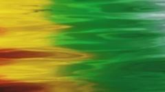 Rainbow Water Ripple Texture 2 Stock Footage