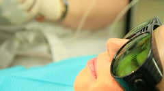 Dental treatments Stock Footage