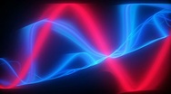 Stock Video Footage of red blue lines motion background d4575B