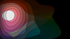 cartoon jitter motion background dt3337H - stock footage
