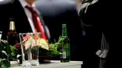 Men in a bar Stock Footage