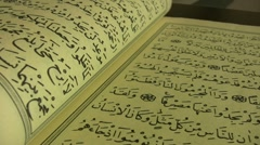 The Quran Stock Footage