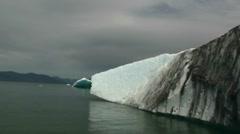 La Conte Glacier, Fjord Stock Footage