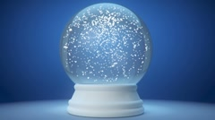 snowglobe - stock footage