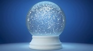Stock Video Footage of snowglobe
