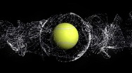 Tennis Ball 4 - HD1080 Stock Footage