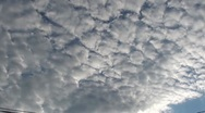 Stock Video Footage of Time lapse of clouds