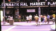 Stock Video Footage of Street Scene Honolulu, Hawaii Circa 1971 (Vintage Film Home Movie Footage) 824