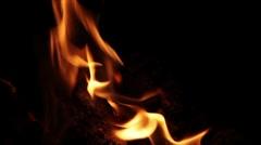 Flames Loop Stock Footage