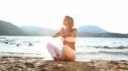 Yoga Stock Footage