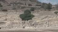 Cyprus, Amathounta archaeological area Stock Footage