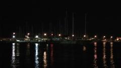 Rhodes port Stock Footage