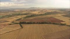 Countryside of Castilla 10 Stock Footage