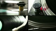 Turntable composition Stock Footage