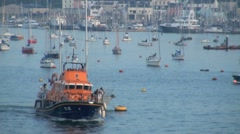 RNLI Lifeboat Stock Footage