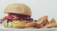 Cheeseburger Stock Footage