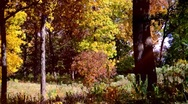 Stock Video Footage of Autumn Scene