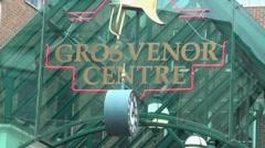 Grosvenor Centre Northampton, UK Stock Footage