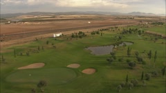 Golf field. Castilla 2 Stock Footage