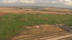 Golf field. Castilla - stock footage