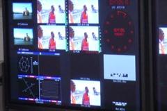 TV studio - stock footage