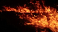 Fire of steppe 2 Stock Footage