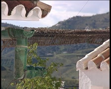 Detail of a house in a Andalusian village. Stock Footage