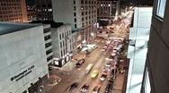 Stock Video Footage of Indianapolis Streets (Time lapse)