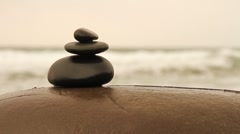 Zen stones Stock Footage
