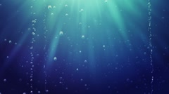 Sea underwater Stock Footage