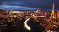 Las Vegas Strip - Dusk Stock Footage