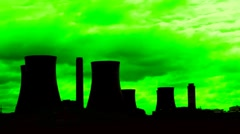 Green energy time lapse - conceptual 3 Stock Footage