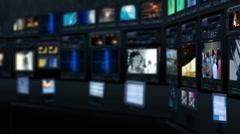 Virtual studio 12 - stock footage