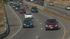 MN Highway traffic Stock Footage