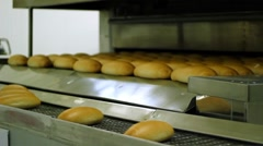 Bakery Equipment - Bread Oven Stock Footage