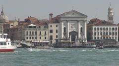 View of Venice church, Venice, Italy - stock footage
