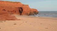 Stock Video Footage of Prince Edward Island Beach