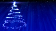 New year background blue Stock Footage