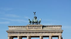 Brandenburg Tor Stock Footage